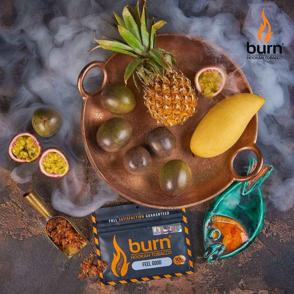 Табак Burn - Feel Good (Маракуйя, манго, банан) 100 г