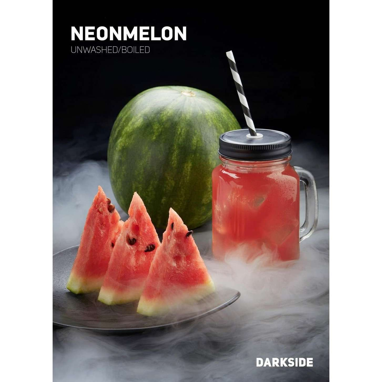 Табак Dark Side Medium - Neon Melon (Арбуз) 100 г