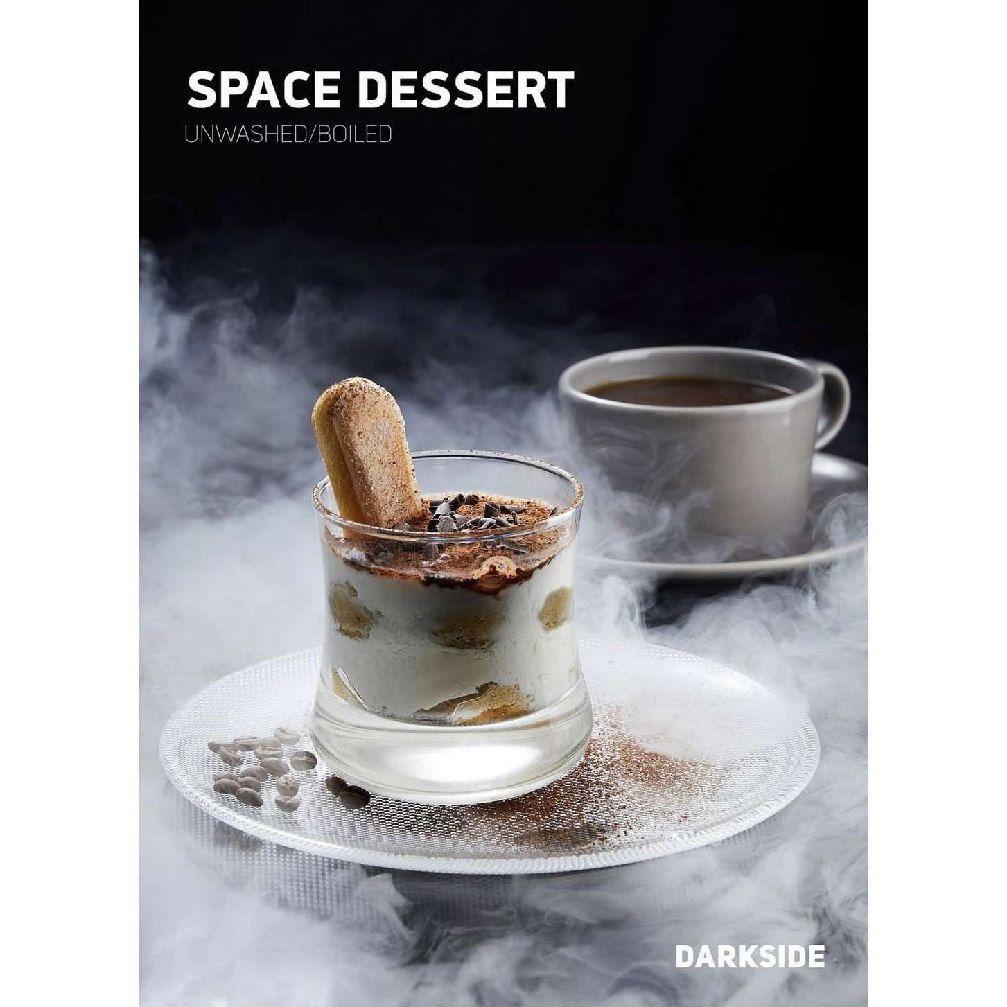 Табак Dark Side Medium - Space Dessert (Тирамису) 100 г