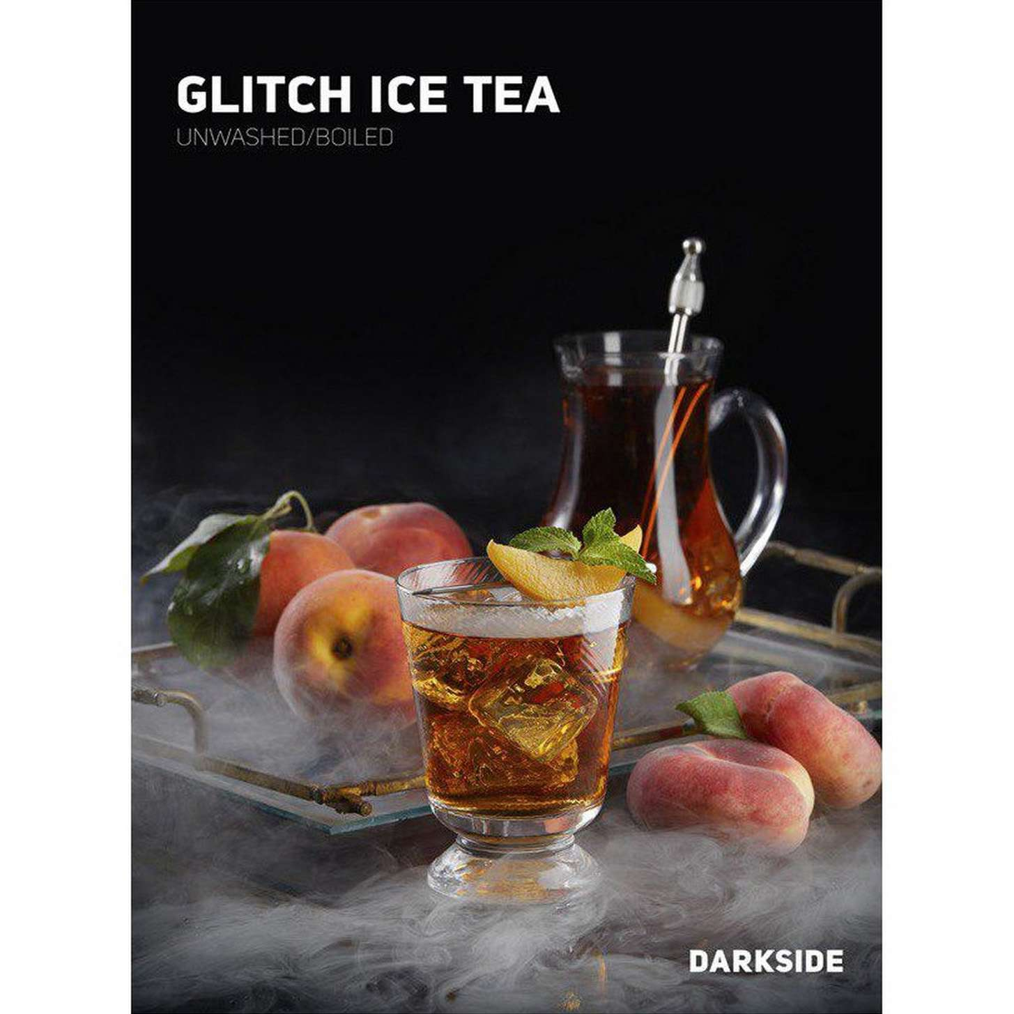 Табак Dark Side Soft - Glitch Ice Tea (Персиковый чай)  100 г