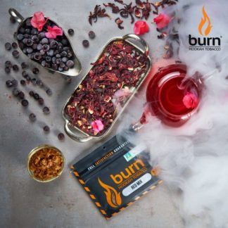 Табак Black Burn - RED MIX(Каркаде и черная смородина) 100 г