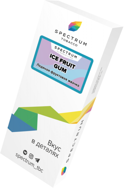 Табак SPECTRUM Ice Fruit Gum(40g)